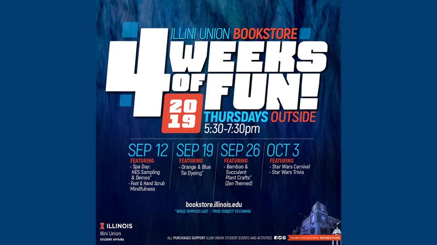 4 Weeks of Fun