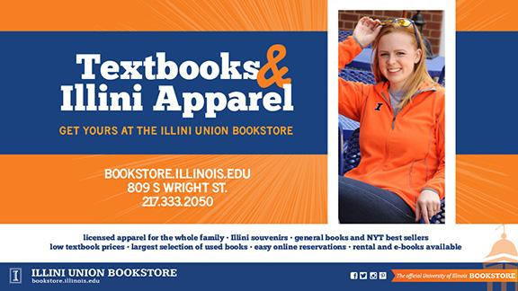 Textbooks & Illini Apparel!!