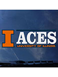 Decal College Of Aces