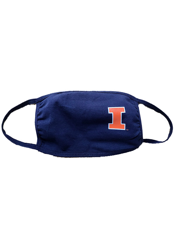 Face Mask Illinois Block I (SKU 154951984000024)